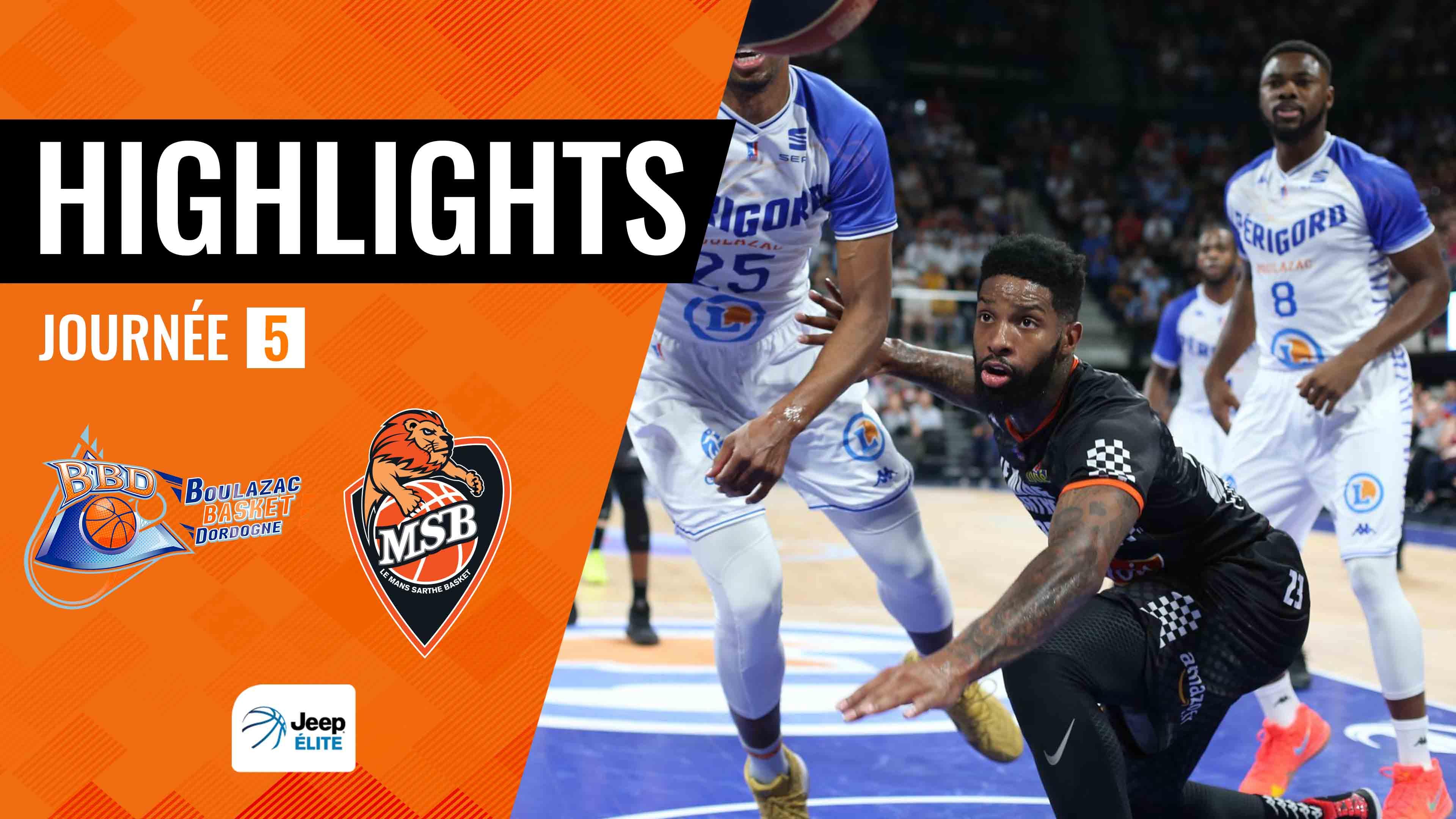 Highlights Boulazac - MSB